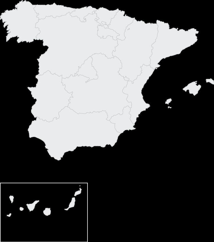 map, spain